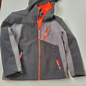 Champion Heritage Girls Kids Clothes Windbreaker Jacket With Hood